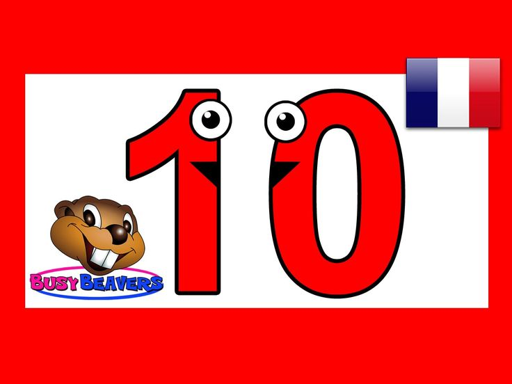This French Lesson Teaches Children to Count from 1 to 10 in French Forwards and Backwards with this Fun and Easy Video for Toddlers and Preschoolers. The Rh...