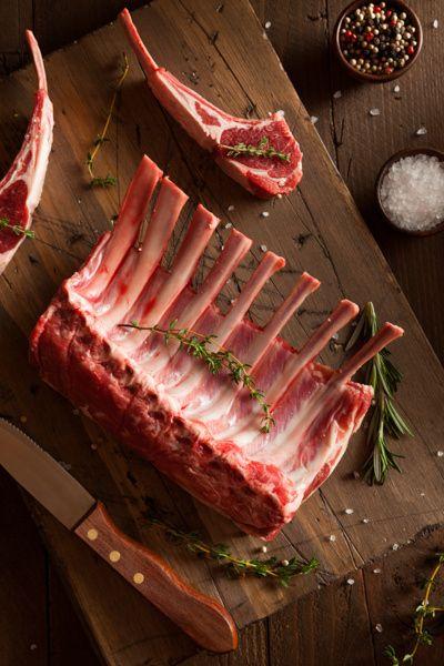 Photograph Organic Raw Lamb Chops by Brent Hofacker on 500px