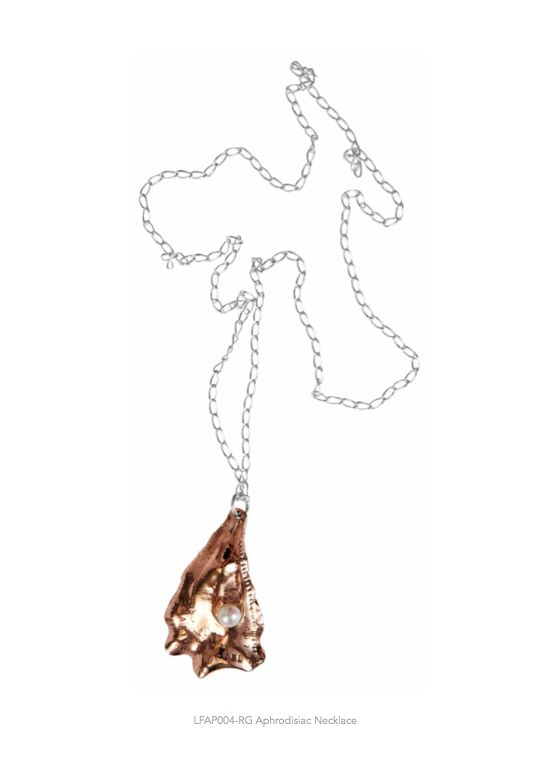 Lucy Folk presents APPETEASER - NH: Autumn/Winter 2014 / SH: Spring/Summer 2014 - APHRODISIAC NECKLACE