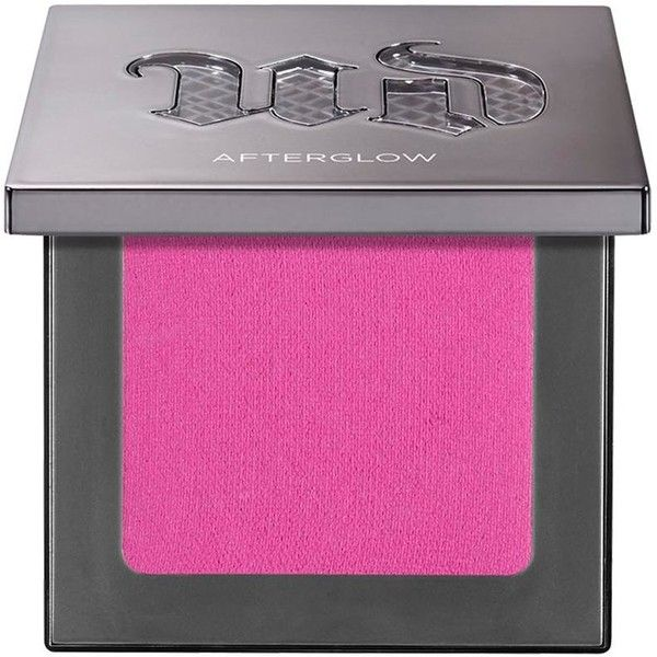 Urban Decay Afterglow 8-Hour Powder Blush - Colour Quickie ($27) ❤ liked on Polyvore featuring beauty products, makeup, cheek makeup, blush, powder blush, urban decay blush, creamy blush and urban decay