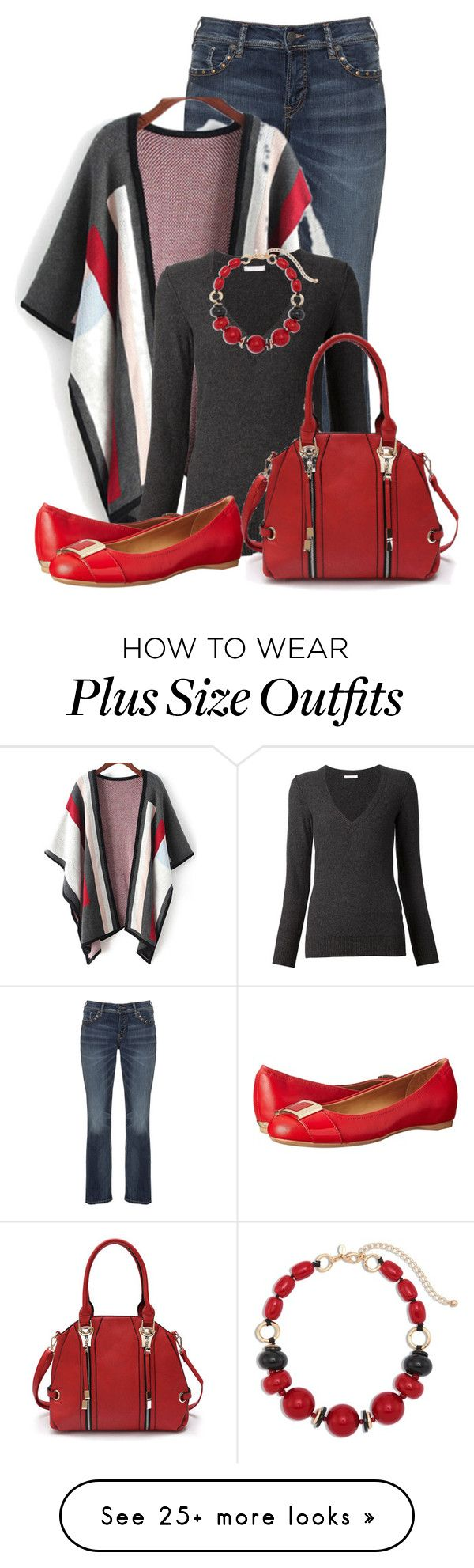 """Untitled #13248"" by nanette-253 on Polyvore featuring Silver Jeans Co., Chloé, Calvin Klein and Chico's"