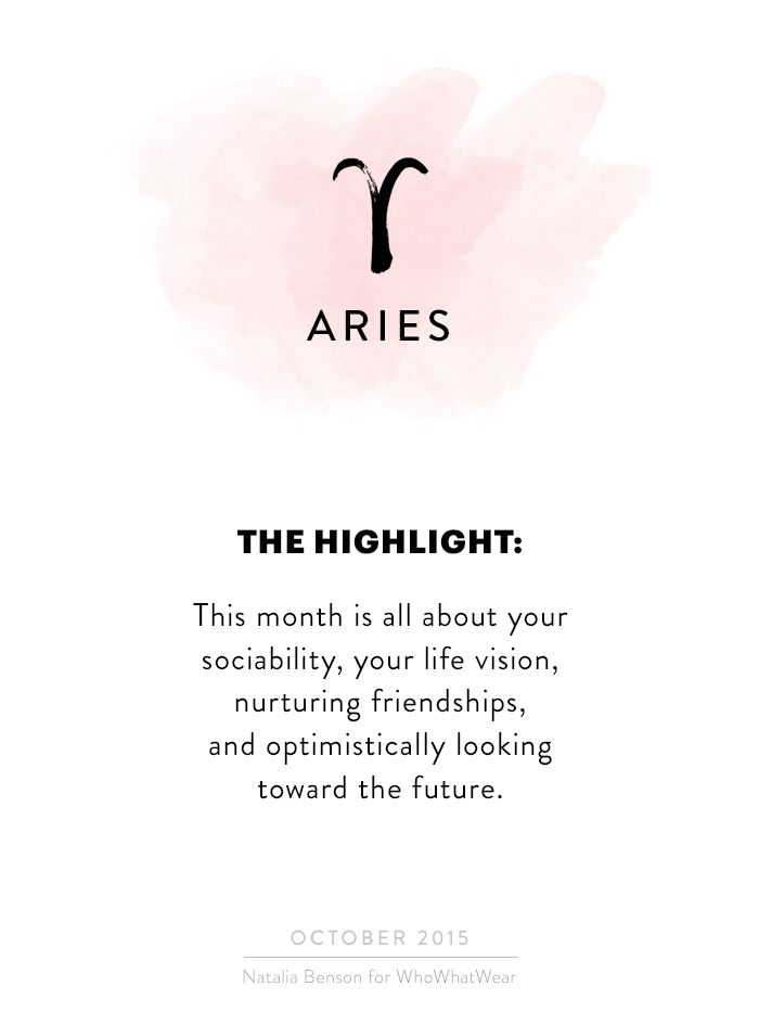 Your+October+Horoscope+Is+Here—And+It's+ALL+Good+via+@WhoWhatWear