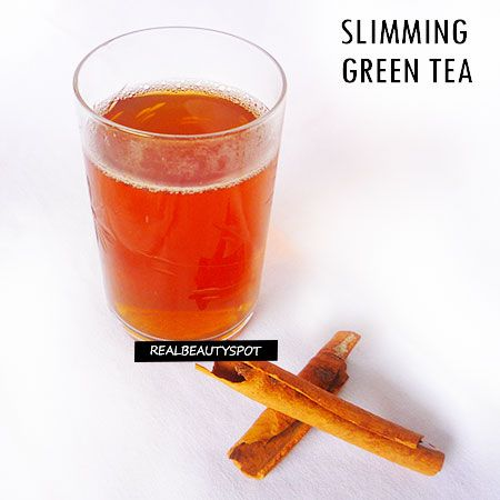 SLIMMING CINNAMON GREEN TEA RECIPE -  Cinnamon is helpful for stomach and digestive disorders and enhances digestion by increasing your body's ability to properly break down and absorb nutrients in food ...
