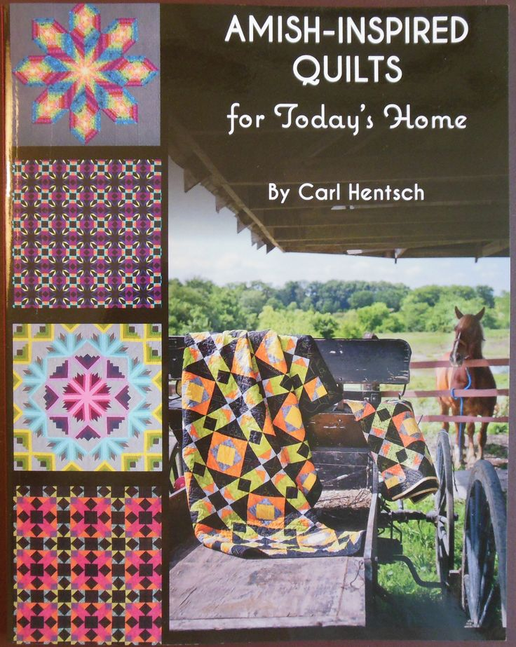 New Book Amish Inspired Quilts For Today S Home By Carol