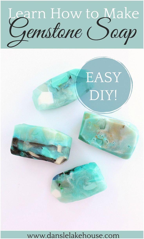 DIY gem soap tutorial   – Crystals & Crystal Healing – Group Board