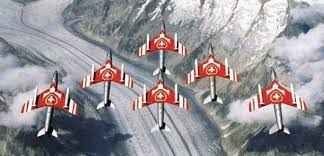 "Patrouille Suisse, Hawker Hunter Mk. 58 ""Hunter"""
