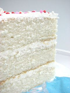 Fluffy Vanilla Cake with Buttercream. Made this cake today!! Really really good