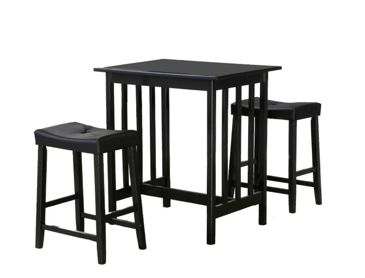 27 best images about 3 piece dining set on pinterest for Breakfast table set with stools