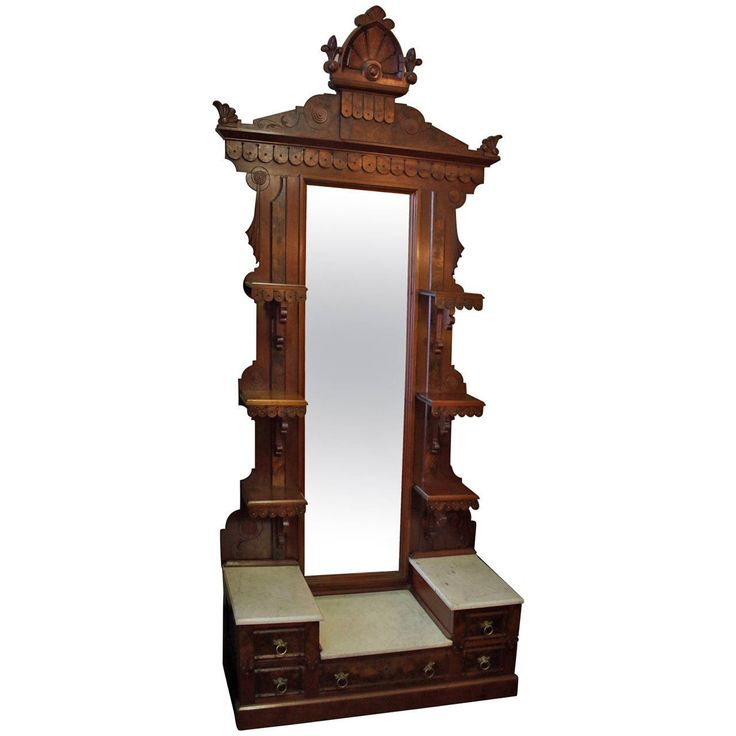 19th Century Victorian Burled Walnut Etagere | From a unique collection of antique and modern shelves at https://www.1stdibs.com/furniture/storage-case-pieces/shelves/