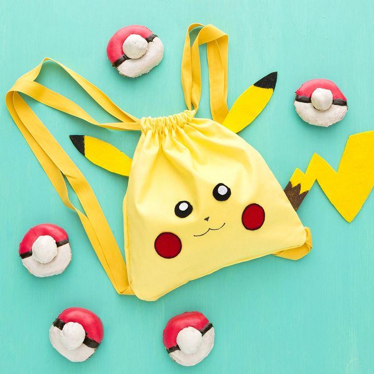 Делаем Pokemon GO рюкзак и пончики Pokéball