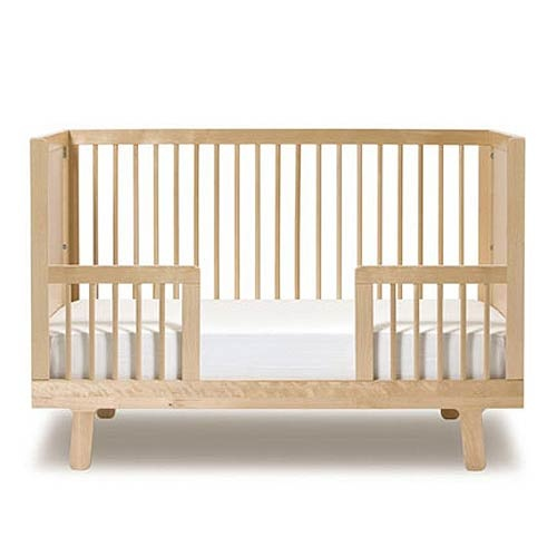 Sparrow Crib Toddler Bed Conversion Kit In Birch : All Baby Cribs at PoshTots