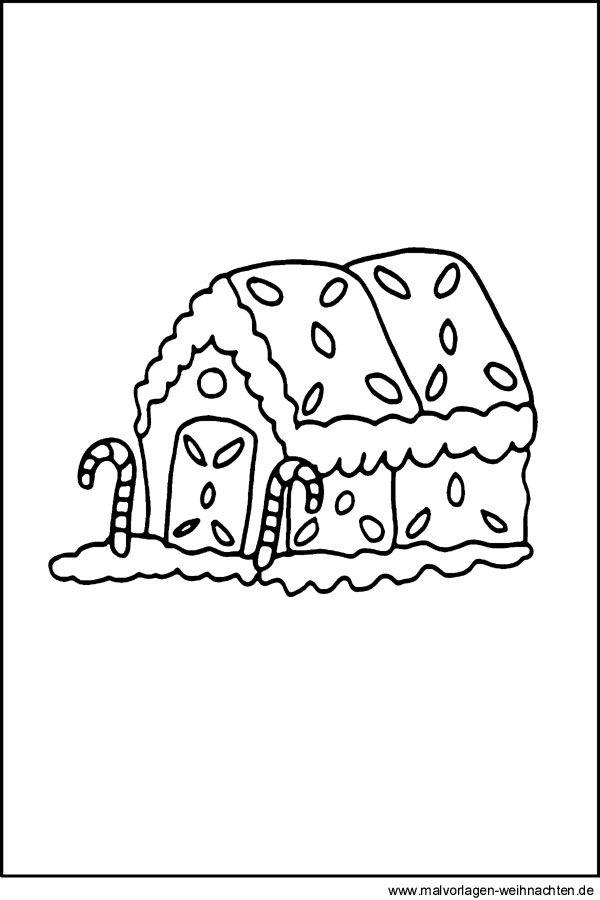 malvorlagen für lebkuchenhäuser lebkuchenhaus malvorlage