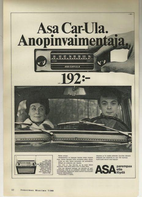 Asa-auoradio, 1968