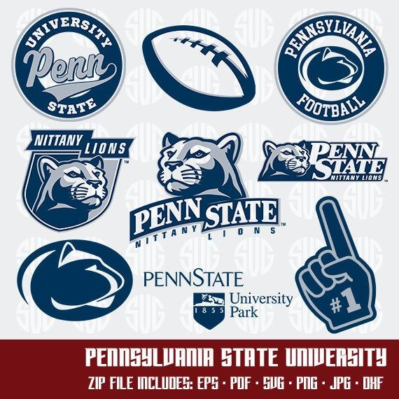 Pin By Emily Sayre On Svg Decals Penn State Penn State Football Monogram Svg