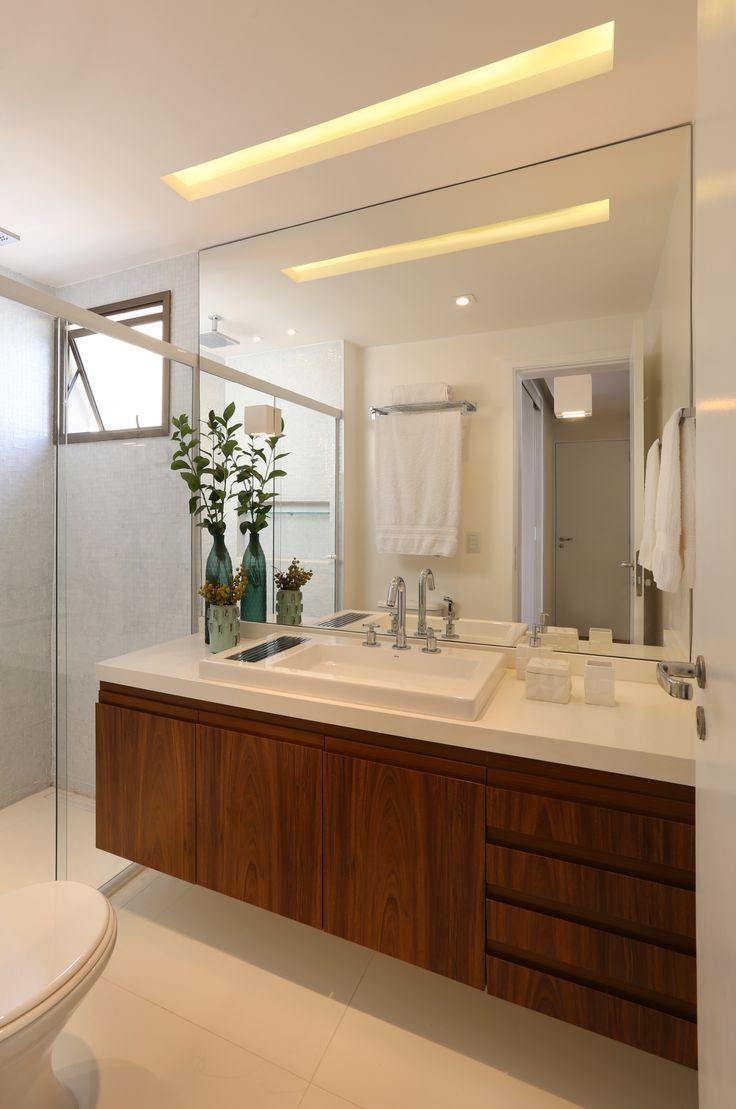 Cobertura Pinheiros / Mandril Arquitetura #banheiro #bathroom #lighting