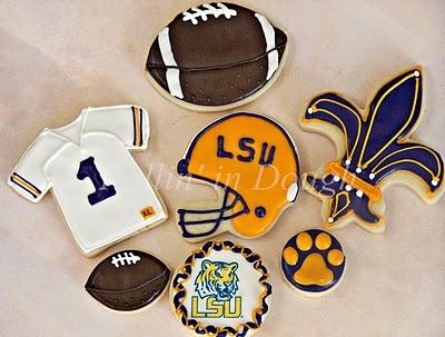 More LSU Cookies!