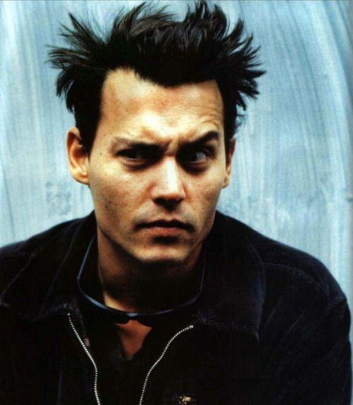 Johnny Depp 1995 by Anton Corbijn