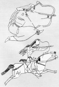 Kök Turk Horse Archers