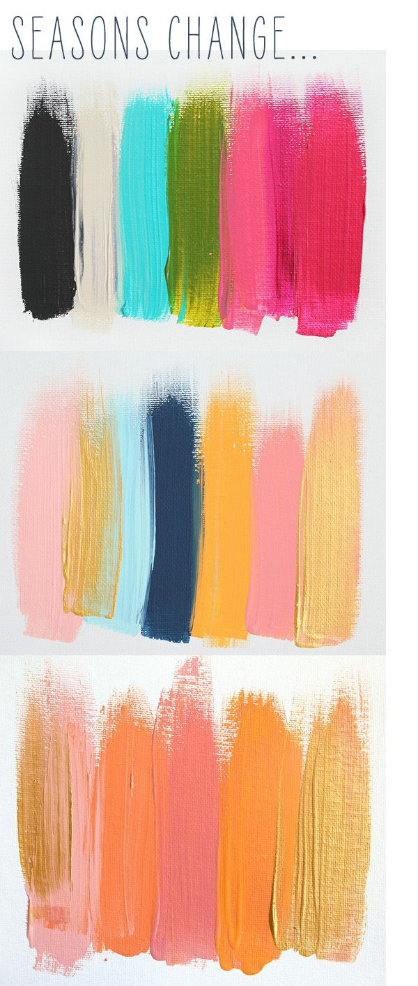 paint smudges. color inspiration for fun cheerful rooms. I wish I had more rooms to decorate!!!! :(
