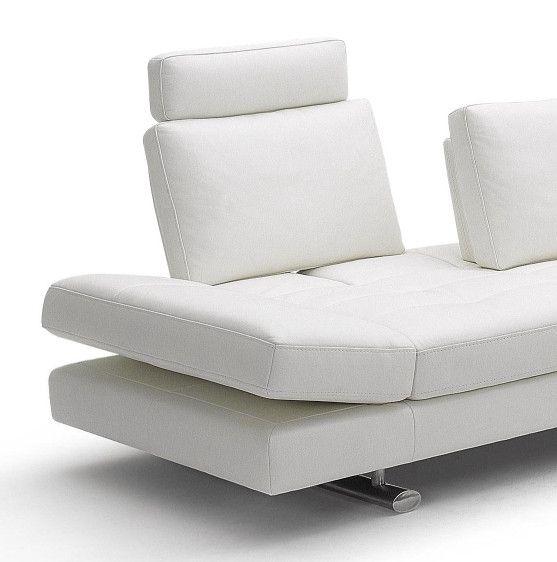 Divani Casa 950 - Contemporary Italian Leather Sofa Set