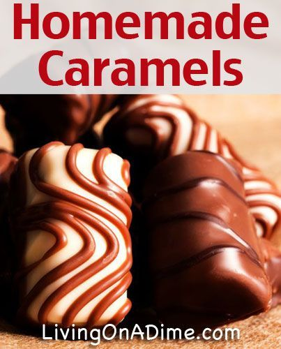 Homemade Caramels Recipe- A Gluten Free Candy you can make at home!