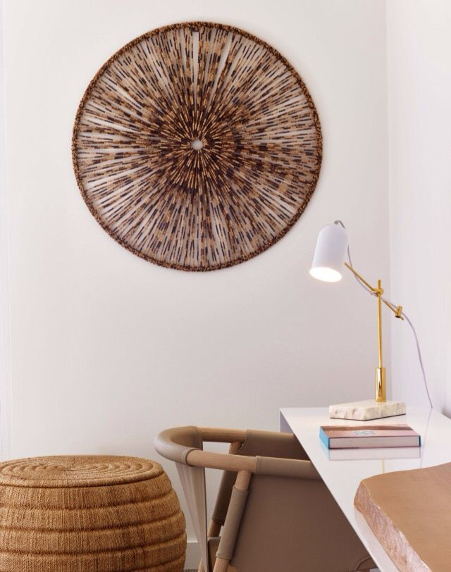 vogue living | 1 hotel south beach Miami | tranquil and organic-inspired workspace