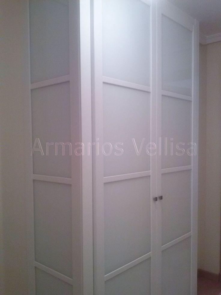 M s de 25 ideas incre bles sobre puertas armarios for Armario de pared con entrada equipada