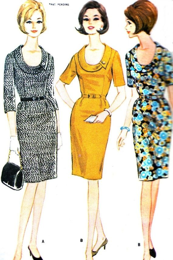 Vintage Sewing Pattern 1960s McCall's 8101 Plus by paneenjerez,