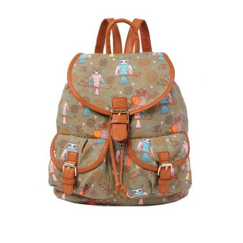 Τσάντα πλάτης γυναικεία Μεσαίου μεγέθους, JC OGZ27F-Brown