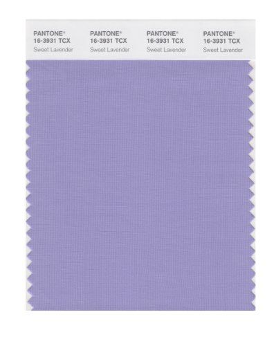 PANTONE SMART 16-3931X Color Swatch Card, Sweet Lavender Pantone