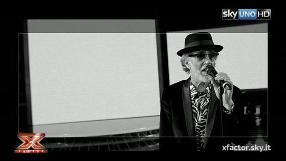 X Factor - Francesco De Gregori canta 'La donna cannone'