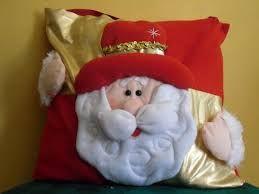 Resultado de imagen para cojines navideños en paño lency papa noel