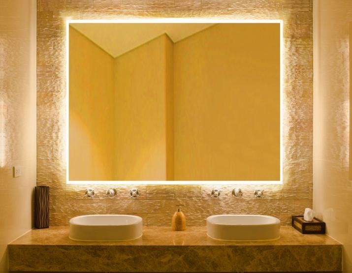 36 best Badspiegel images on Pinterest Neon, Glass and Mirrors - badezimmerspiegel nach mass
