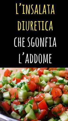 L'insalata diuretica che sgonfia l'addome, fa espellere liquidi e brucia il grasso