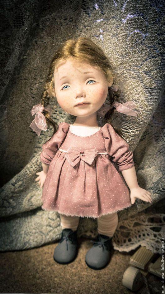 Коллекционные куклы ручной работы. Розовый лепесток. Мурашова Наталья. Интернет-магазин Ярмарка Мастеров. Авторская кукла, хлопок