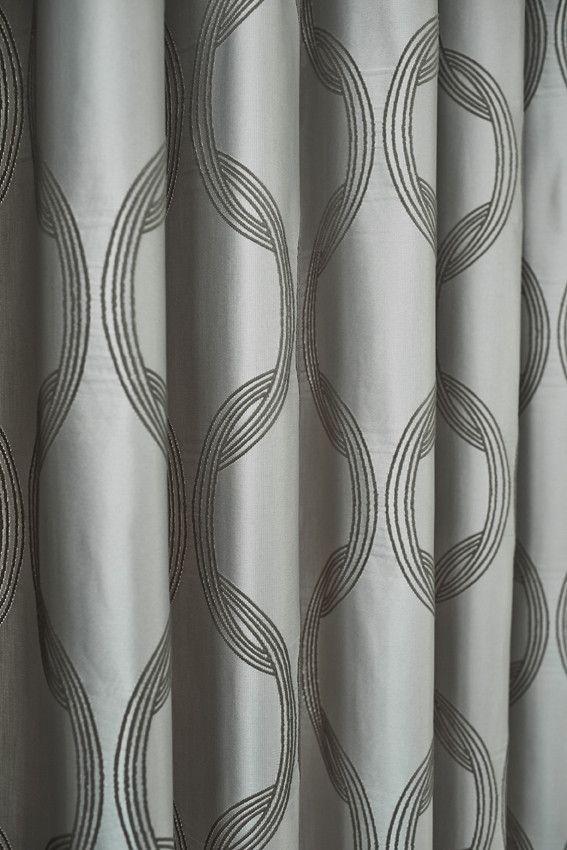 Kobe Motion 10. #interieur #raambekleding #gordijnen #grijs #patroon