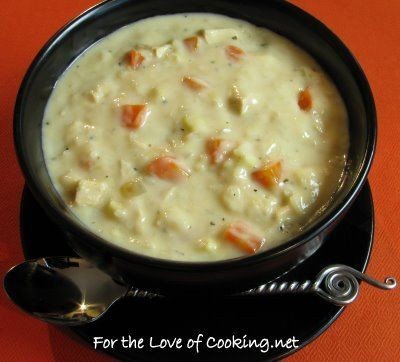 Creamy Chicken/Turkey and Rice Soup Recipe