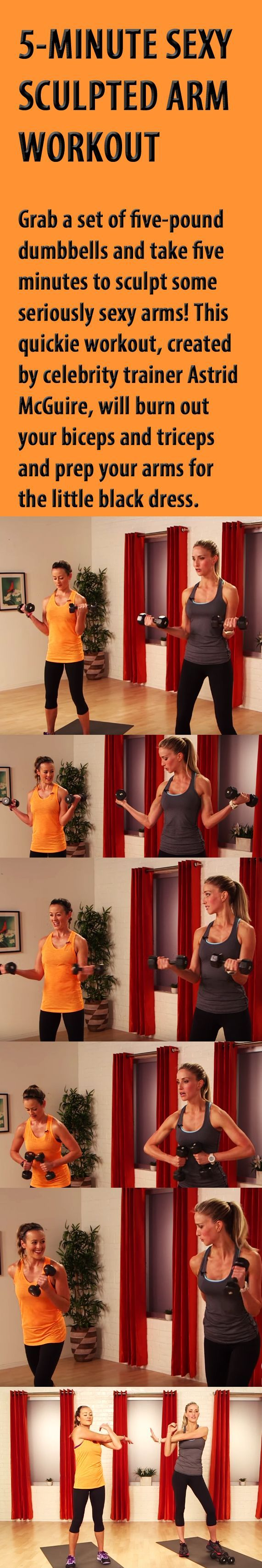 5 minute sculpted arm workout. #armworkout #armexercise #tonedarms #workout #exercise #fitness