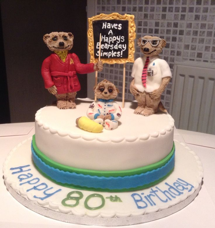 Compare the meerkat cake from Cakes By Nicky