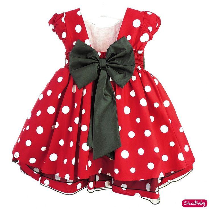 vestido minnie vermelho festa infantil luxo com tiara