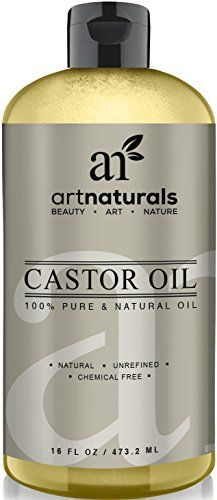 Art Naturals 100% Pure Castor Oil 16 oz - Best Massage Oil & Moisturizer for Hair and Skin - essential-organic...