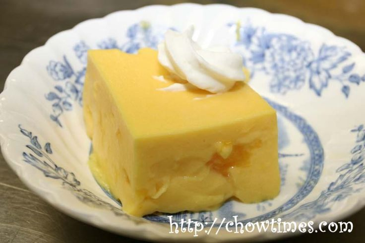 Mango Pudding. For whenever they are out of the instant mix at the Asian supermarket!
