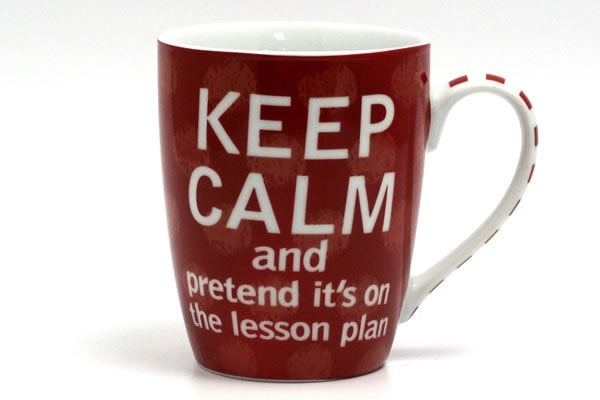 Keep Calm - Love Your Teacher Mug---Cindy Warner