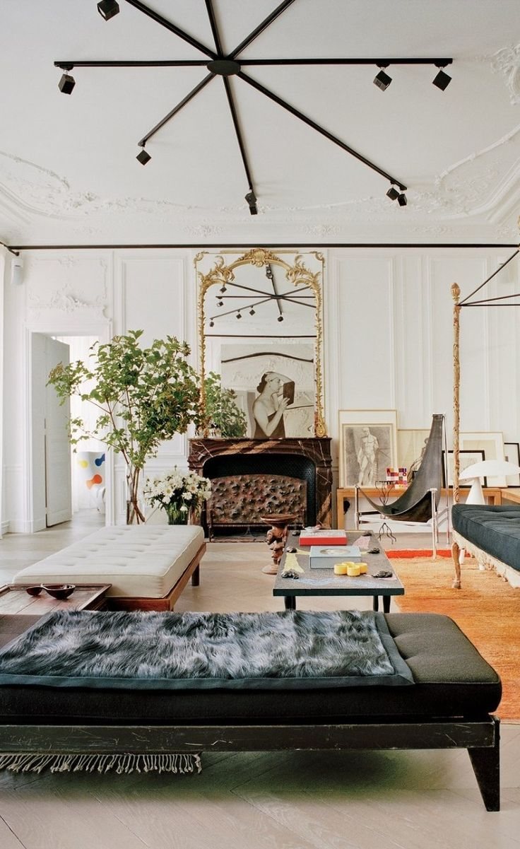 best living room chair%0A Best Living Rooms in Vogue u    Photos