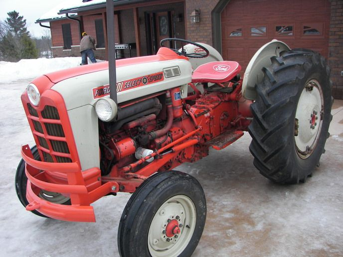 Ford 850 Tractor Serial Numbers : Best images about tractors made in highland park mi on