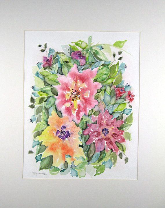 Abstract Watercolor Original Watercolor Original Painting
