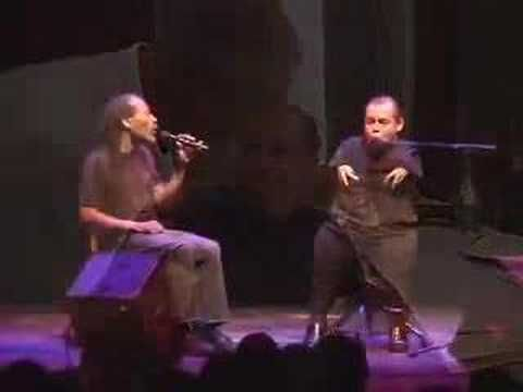 This is absolutely wonderful...enjoy...Bobby McFerrin & Thomas Quasthoff (born November 9, 1959) is a German bass-baritone. Although his reputation was initially based on his performance of Romantic lieder, Quasthoff has a range from the Baroque cantatas of Bach to solo jazz improvisations.  Thomas performing with Bobby McFerrin at the Jazz Festival.   What amazing fun!!    http://en.wikipedia.org/wiki/Thomas_Quasthoff