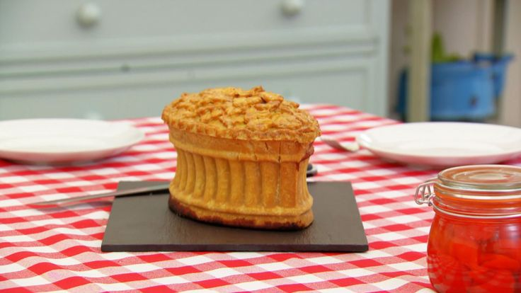 This raised game pie recipe is Paul's interpretation of the signature challenge in the Victorian episode of Season 3.