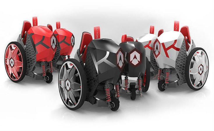 ACTON RocketSkates: os primeiros patins elétricos e inteligentes do mundo