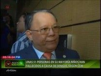 Colegio Médico Dominicano Afirma Que Han Fallecido 51 Personas Por Dengue En Lo Que Va De Año, En Su Mayoría Niños #Video